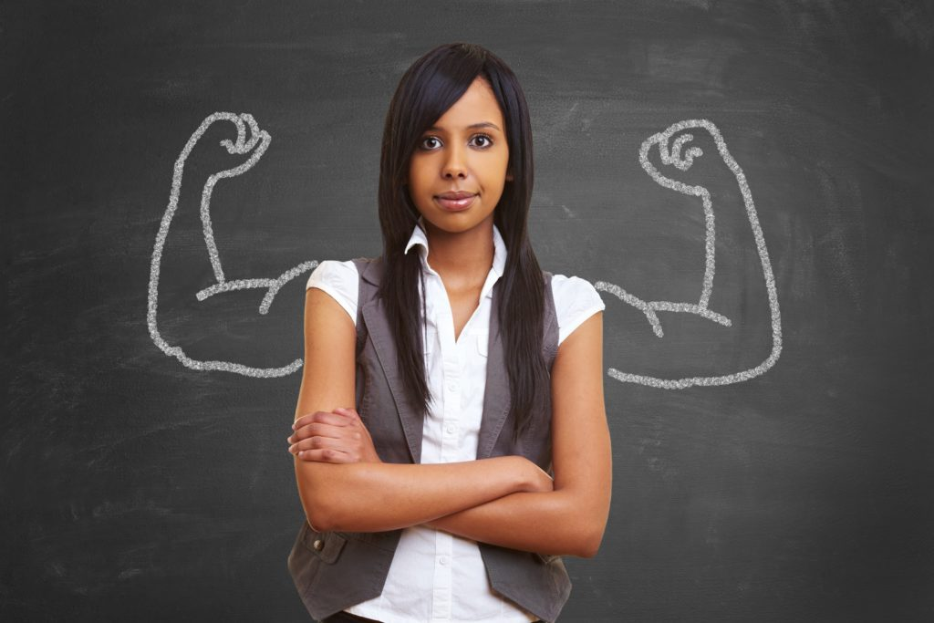 Strong-and-powerful-woman-with-self-confidence-and-chalk-muscles-